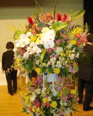 生花スタンド お祝い 2